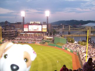 Dusk at PNC Park, Pittsburgh, PA
