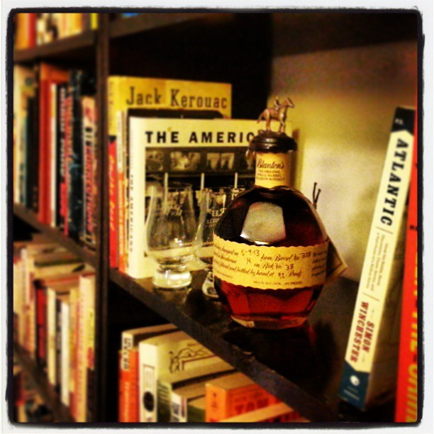 Dan's Bourbon of the Week: Blanton's Single Barrel (Barrel no. 328, 5-9-13). The granddaddy of the single barrel bourbons.