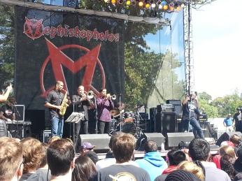Mephiskaphales at Riot Fest
