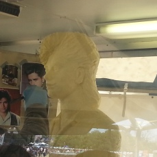 Yes, its a butter sculpture of John Stamos