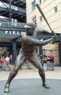 Wishbone and Willie Stargell statue at PNC Park, Pittsburgh PA