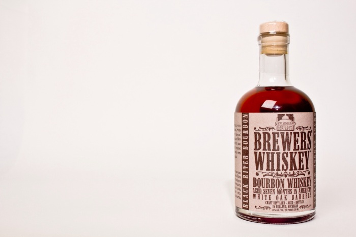 Dan's Bourbon of the Week: New Holland Artisan Spirits Black River Bourbon Brewers Whiskey. Photo by Mike Tesh