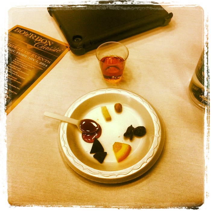 Food pairings with Woodford Reserve