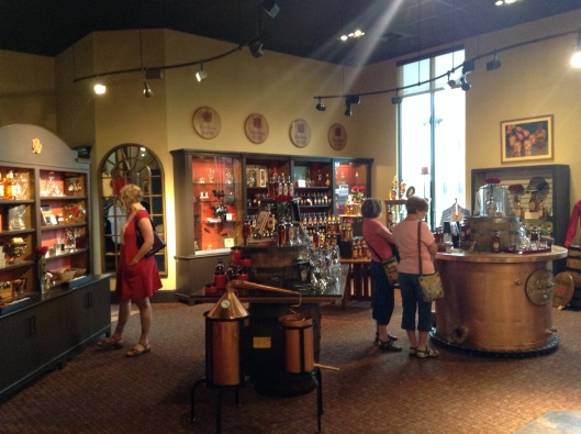 Visitor Center and Gift Shop at Four Roses Distillery