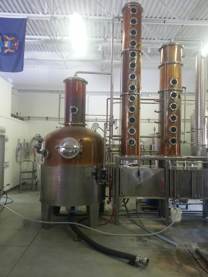 ...then, on to the copper still!