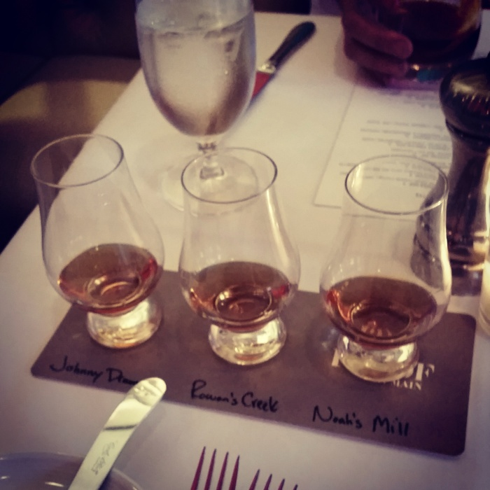 KY Bourbon Distillers Flight