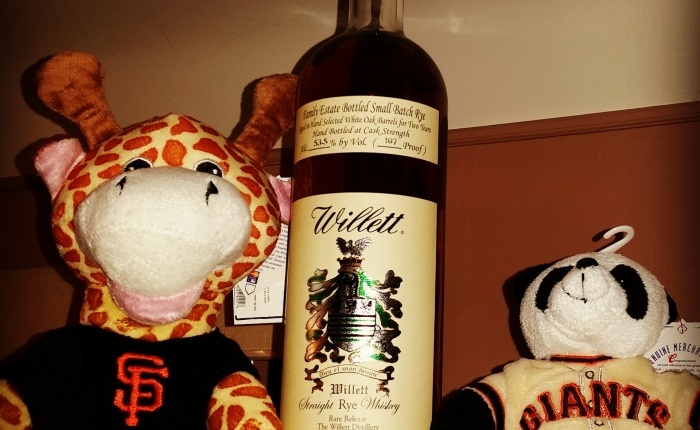 Dan's (not quite) Bourbon of the Week: Willett Family Estate 2 Year Rye