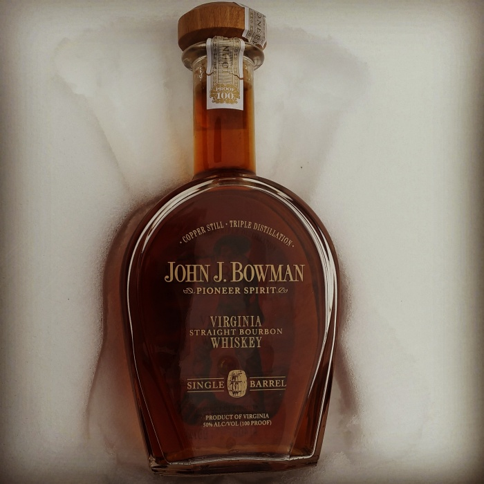 Dan's Bourbon of the Week: John J. Bowman Single Barrel