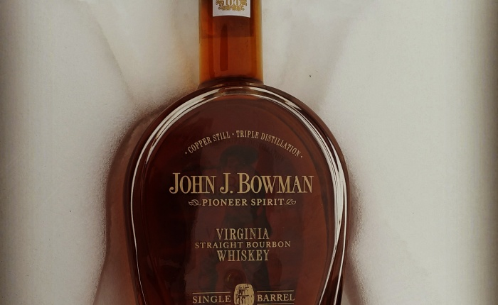 Dan's Bourbon of the Week: John J. Bowman SingleBarrel