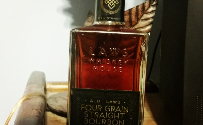 Dan's Bourbon of the Week: A.D. Laws Four Grain Straight Bourbon